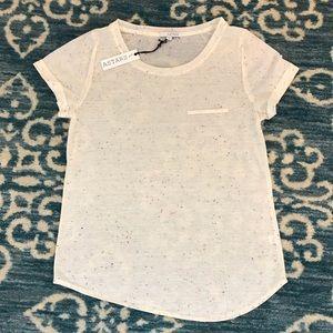 Astars pocket T-shirt with rolled cuffs XS NWT 🎉